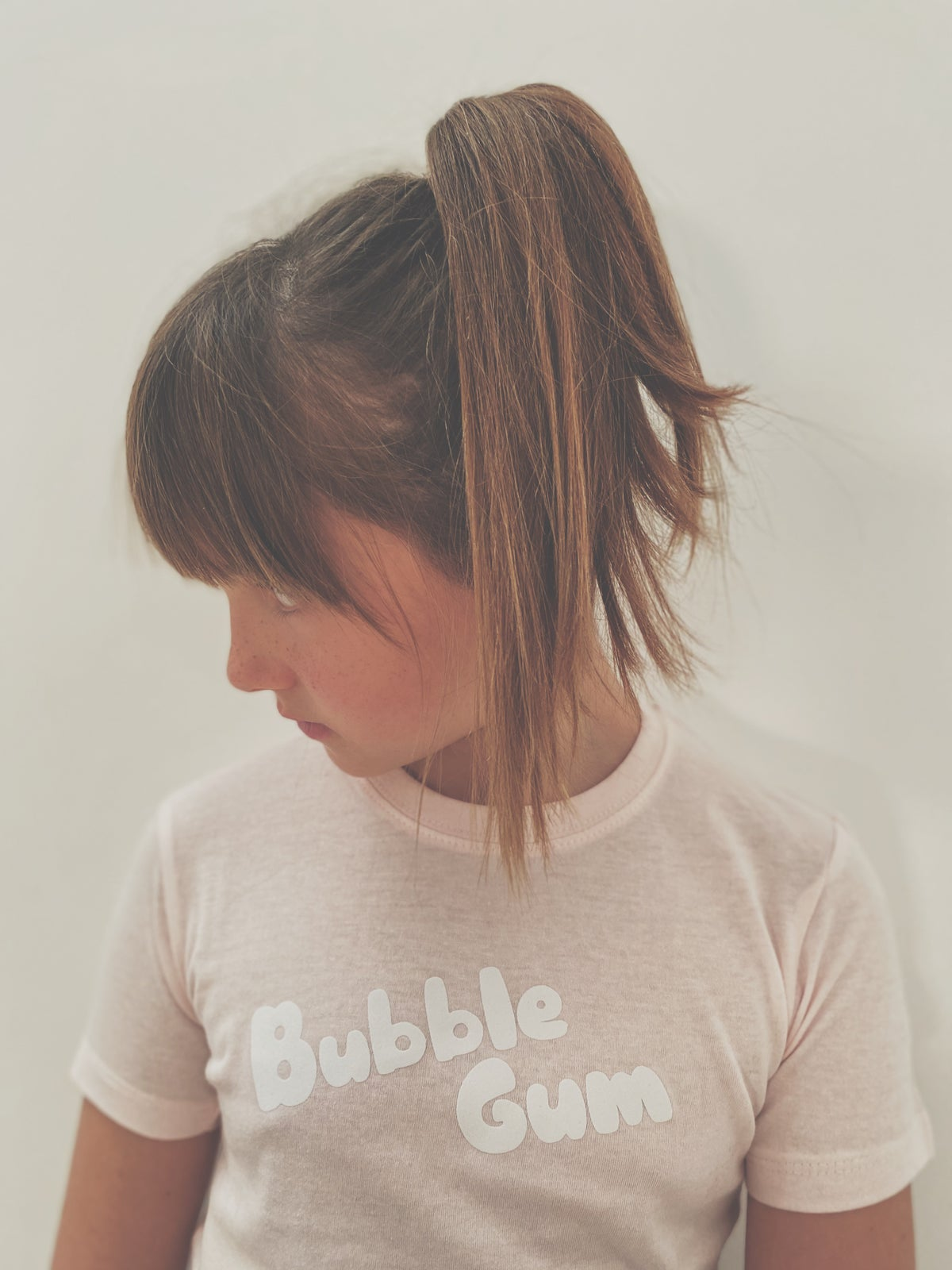 Image of Tee shirt ROSE BUBBLE GUM