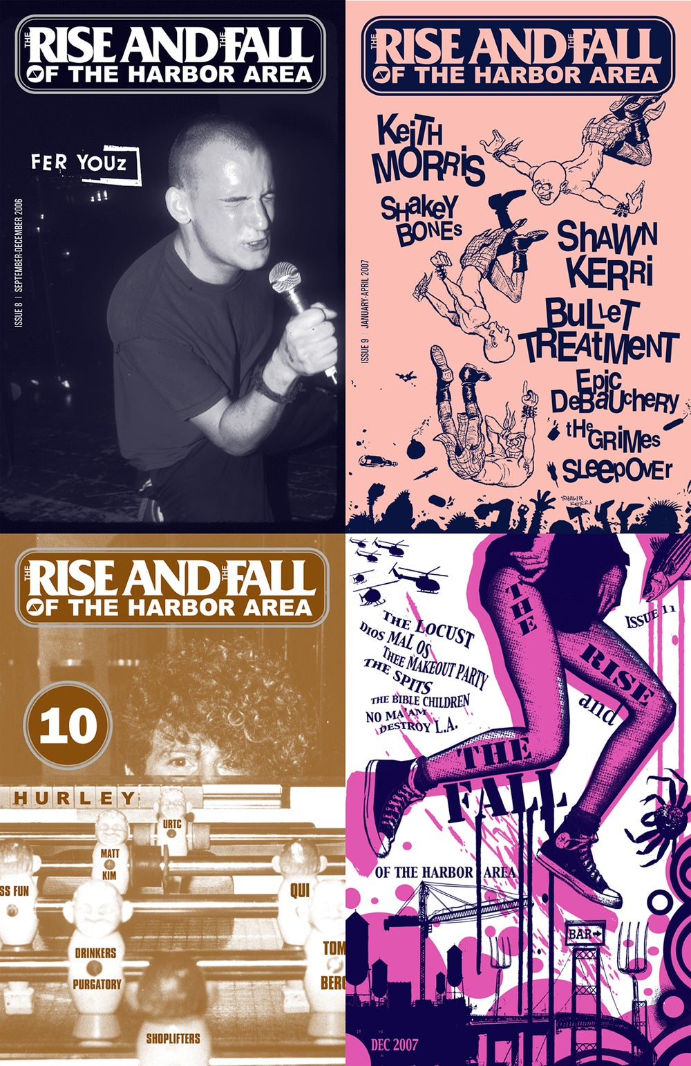 THE RISE AND THE FALL - Back Issues → zines