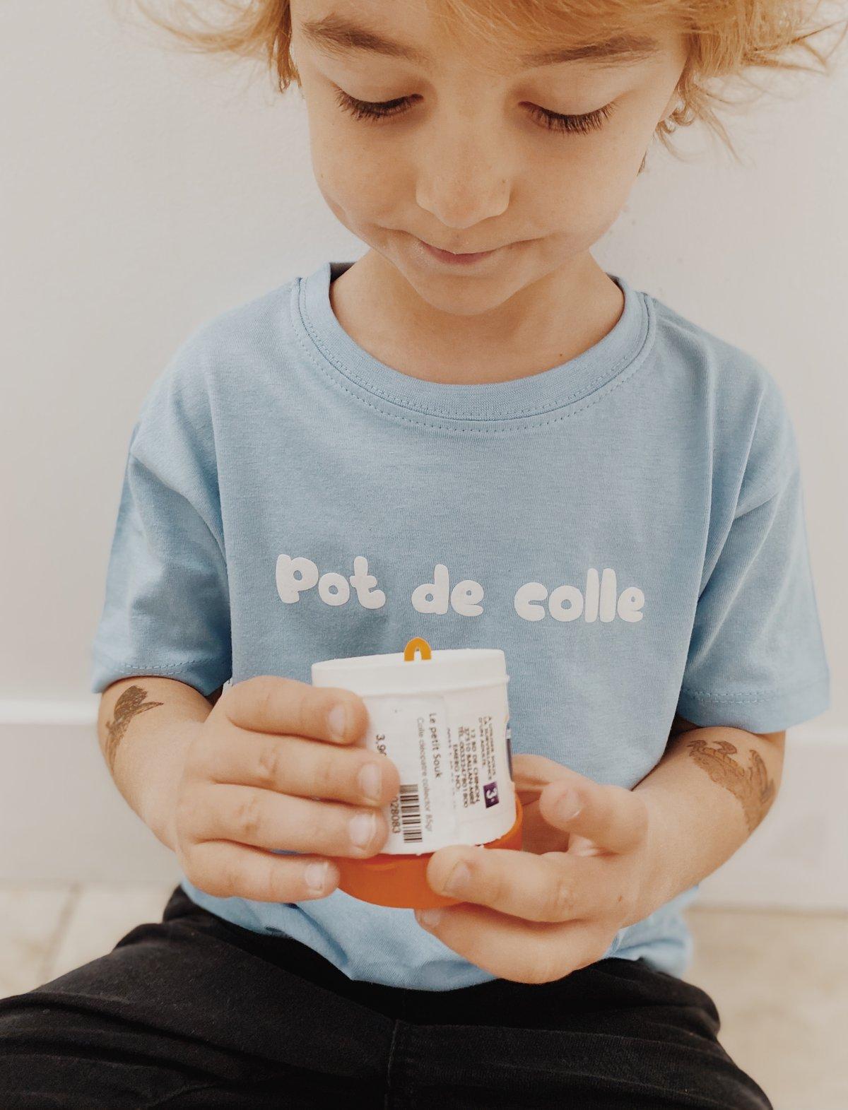 Image of Tee shirt bleu ciel kids