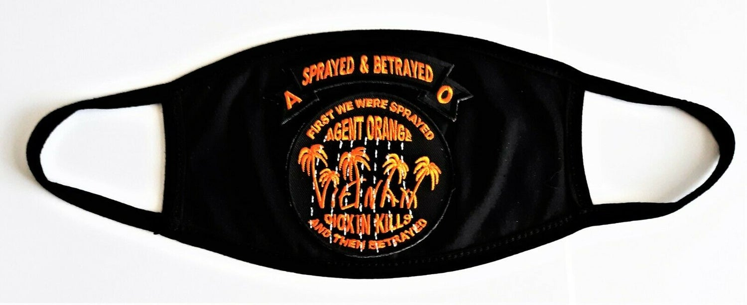 Image of Vietnam Veteran Agent Orange Face Mask