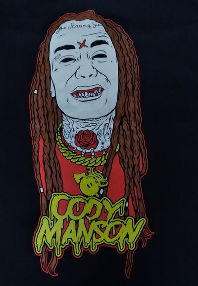 Image of CODY  MANSON : CODY  MANSON  2.0 Zip up hoodie