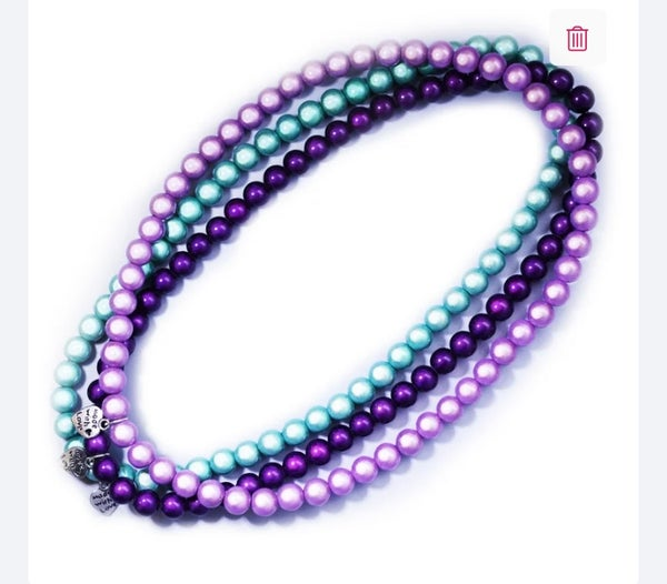 Image of Glow Bead 10mm Necklace