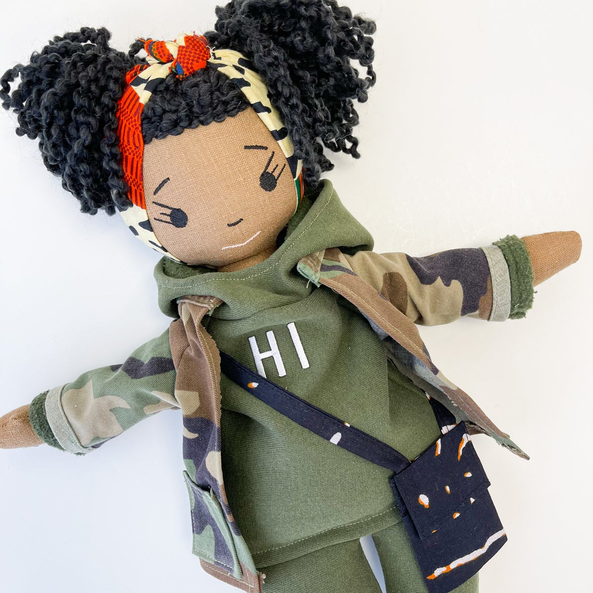 Londynn PLUS More to Love Handmade Doll (SHIP DATE: ON OR BEFORE MARCH 15TH)