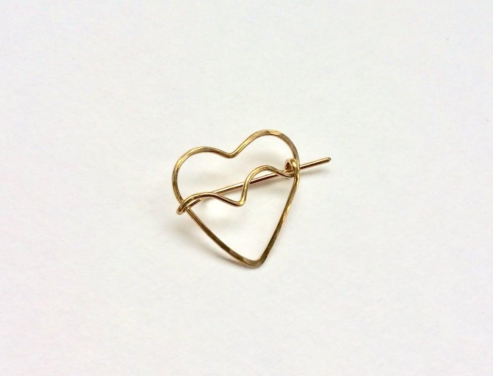 Image of Heart pin