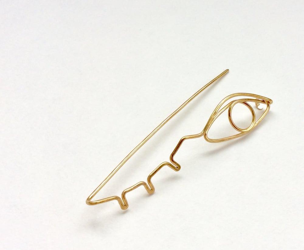 Image of Eye spy pin