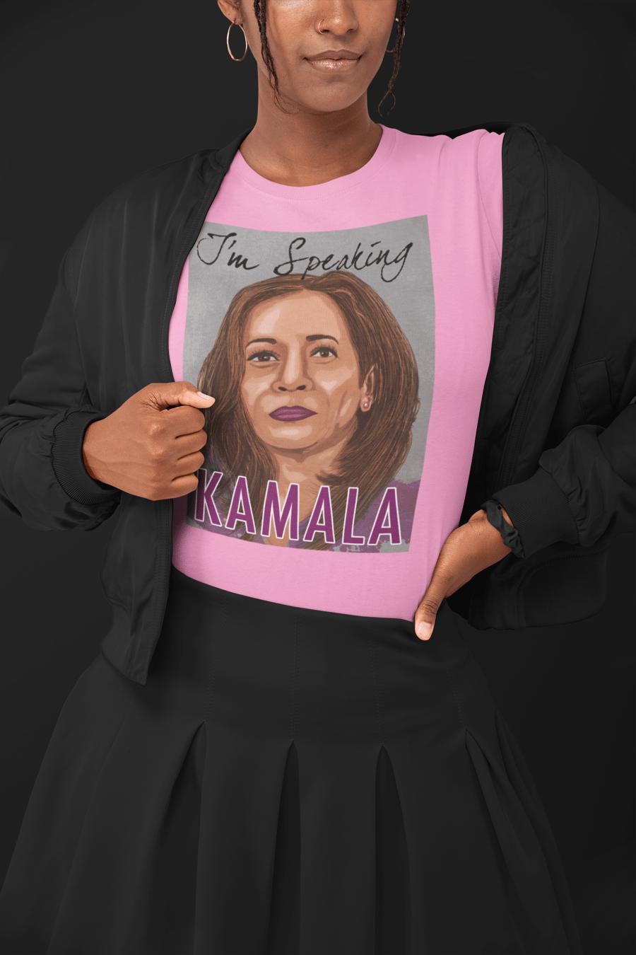 Image of Kamala I'm Speaking (Purple and Gray)