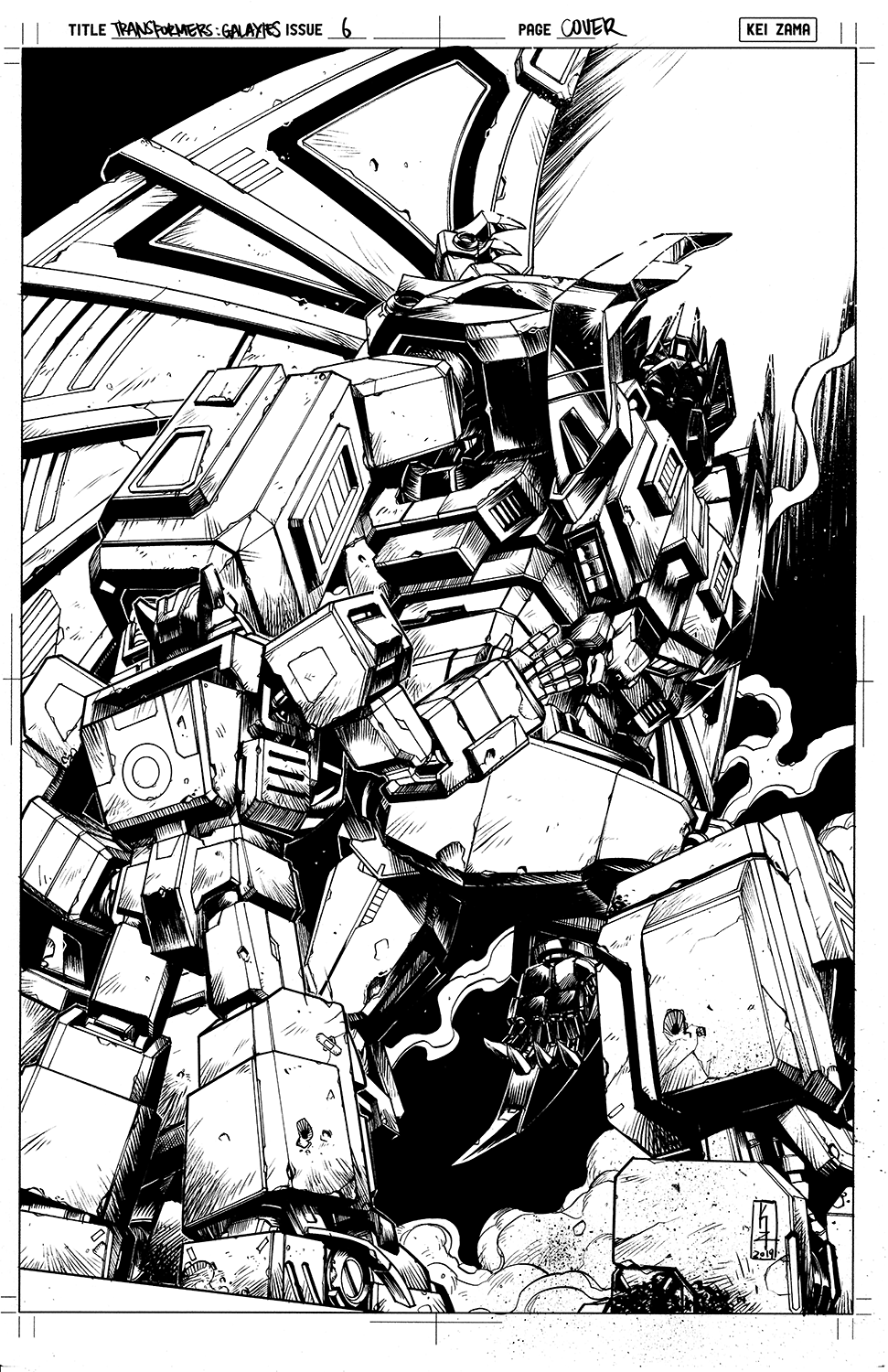 Transformers Galaxies #6 Cover