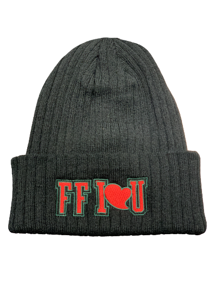 Image of FFI❤️U Quilted Beanie