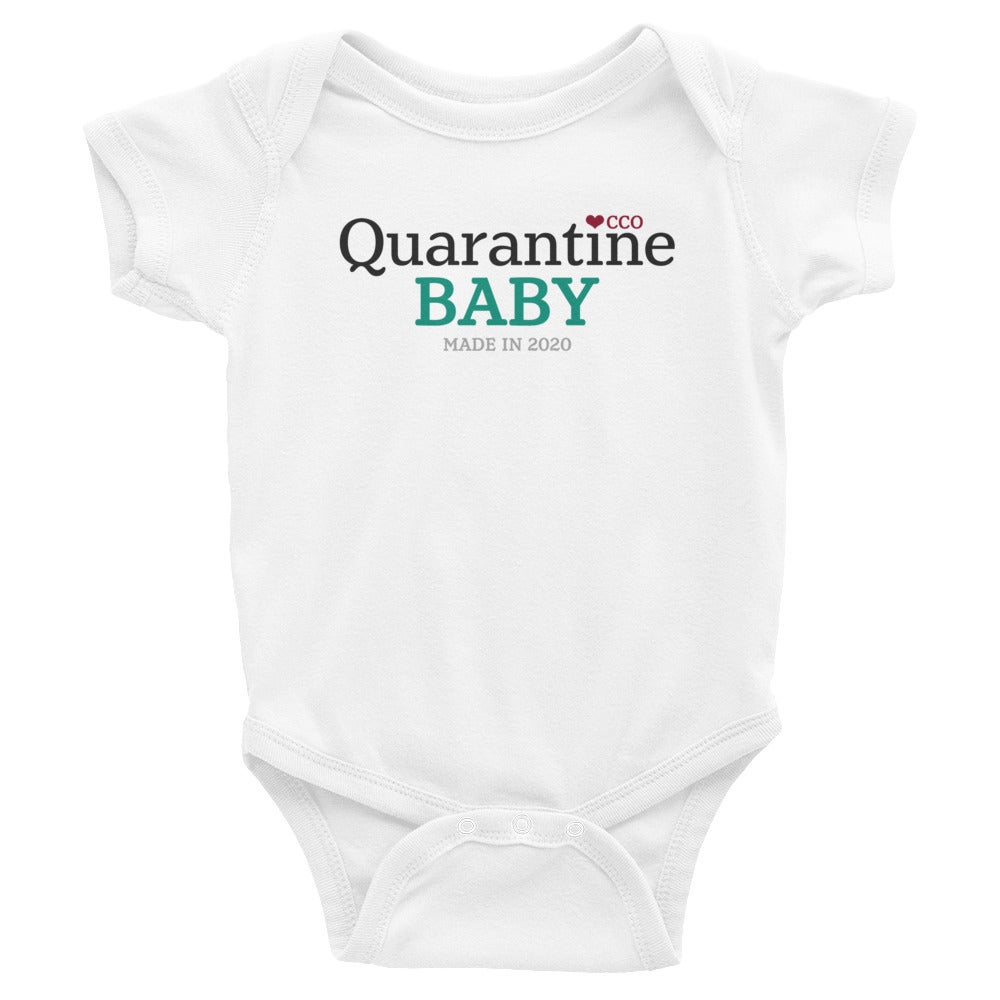 Image of Quarantine Baby Short Sleeve Onesie