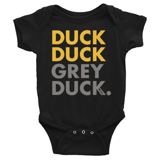 Image of Duck Duck Grey Duck Short Sleeve Onesie