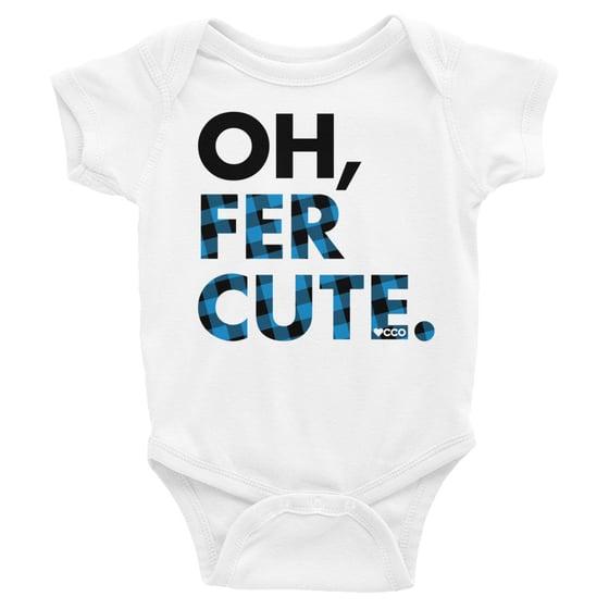 Image of Oh, Fer Cute Short Sleeve Onesie