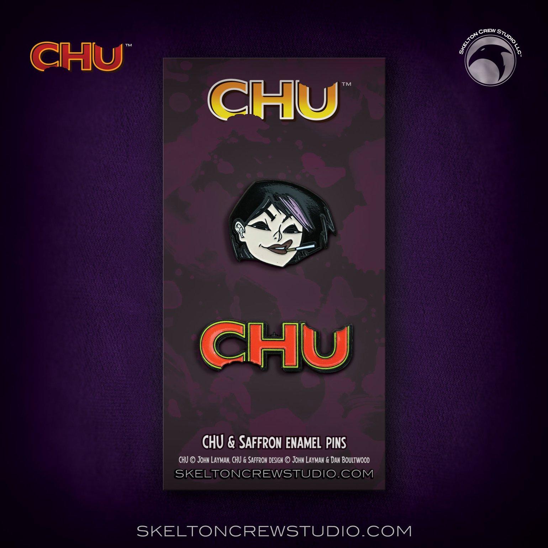 Image of CHU: Limited Edition Saffron & CHU Logo set!