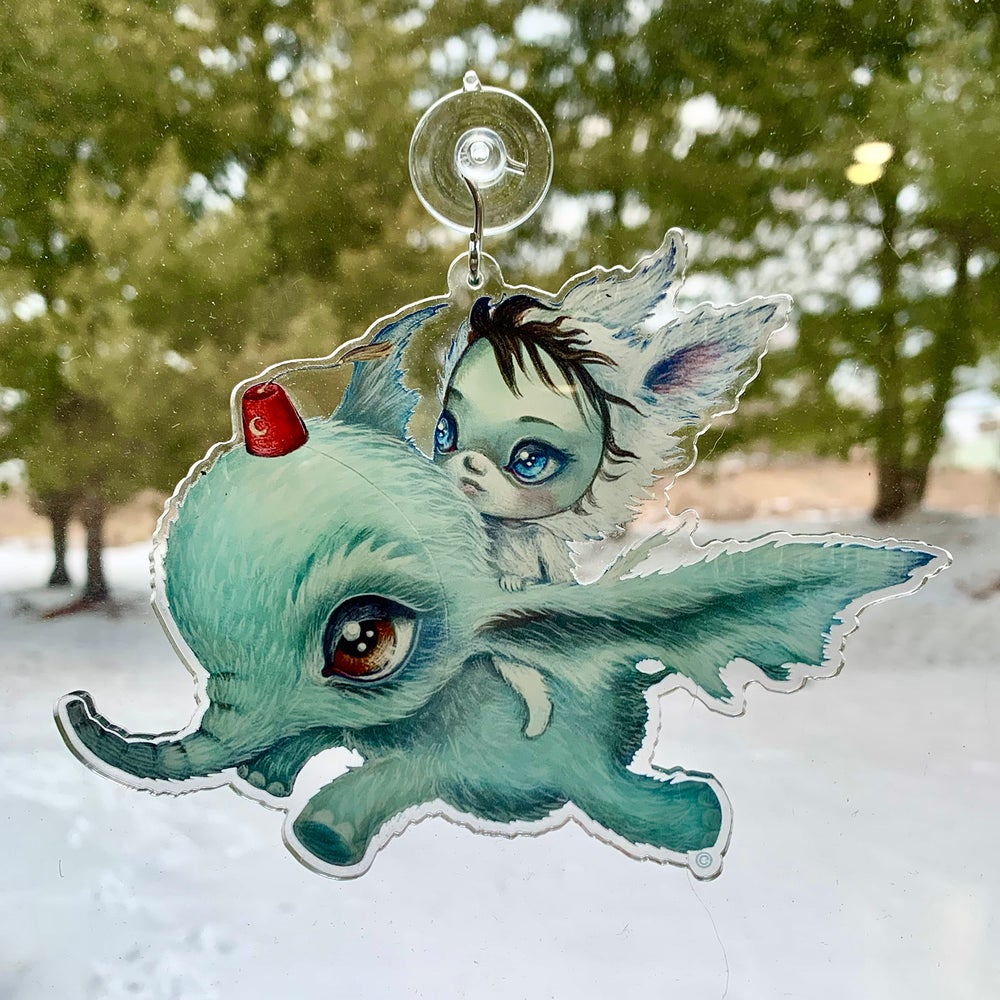 Image of Elebat Moonlight (Window Charm)