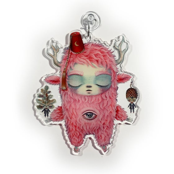 Image of Magic Forest Man (Window Charm)