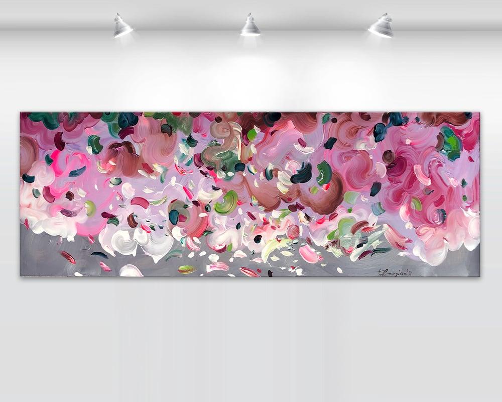 Image of Peonies - 152x50cm