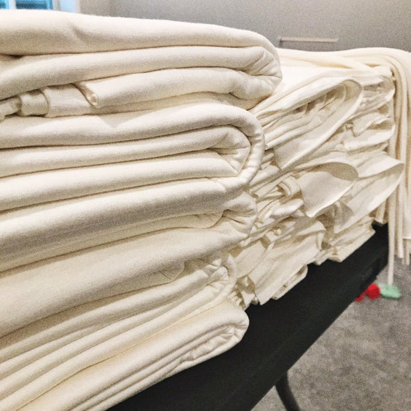 Image of Pale Ivory Fabric starting at