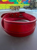 Legacy Series Leather Belt Red (44)