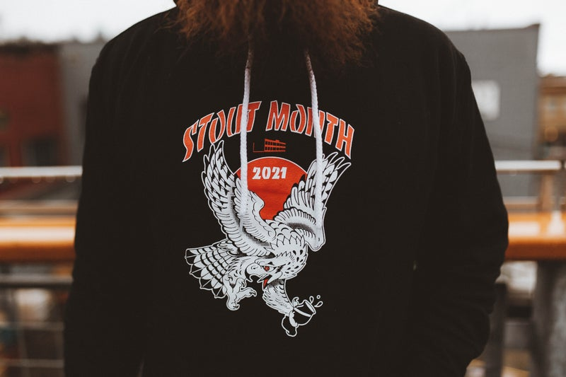 Image of 2021 Stout Month Hoodie