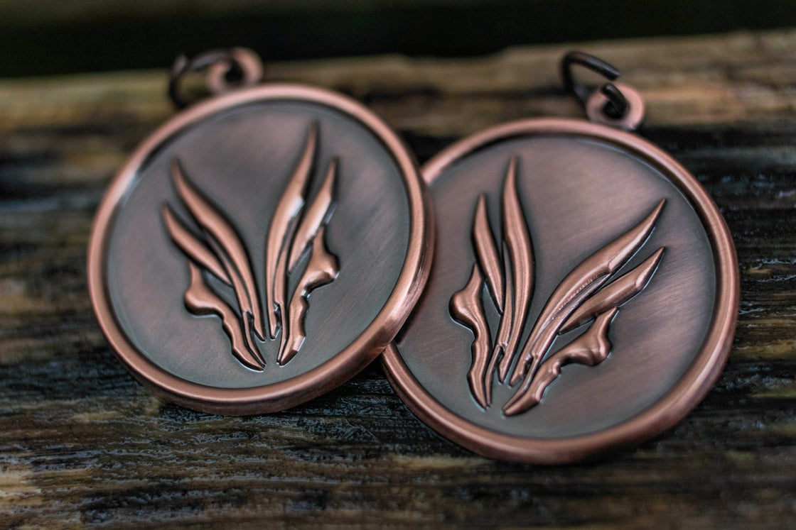 Image of NEW: Hufschmid 'Antique Bronze Finished' pendants
