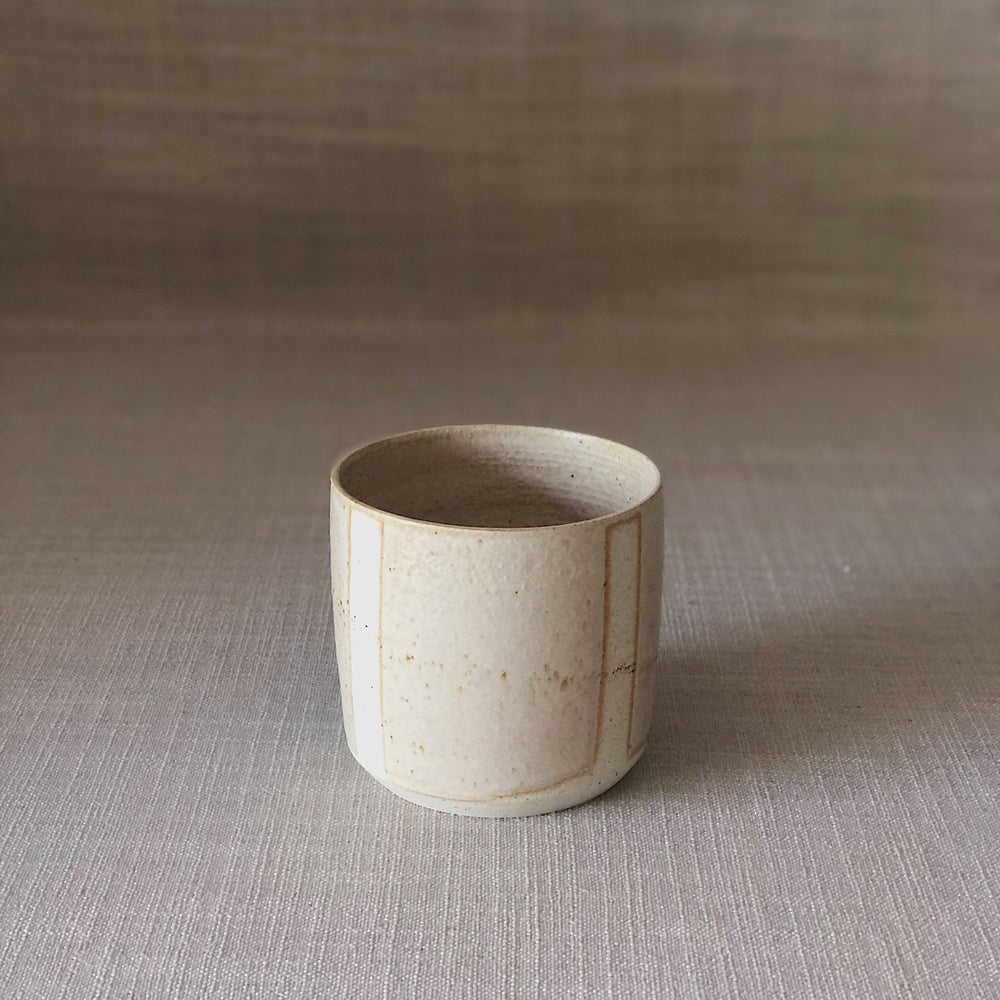 Image of EARTHY PINK STRIPY SMALL PLANTER