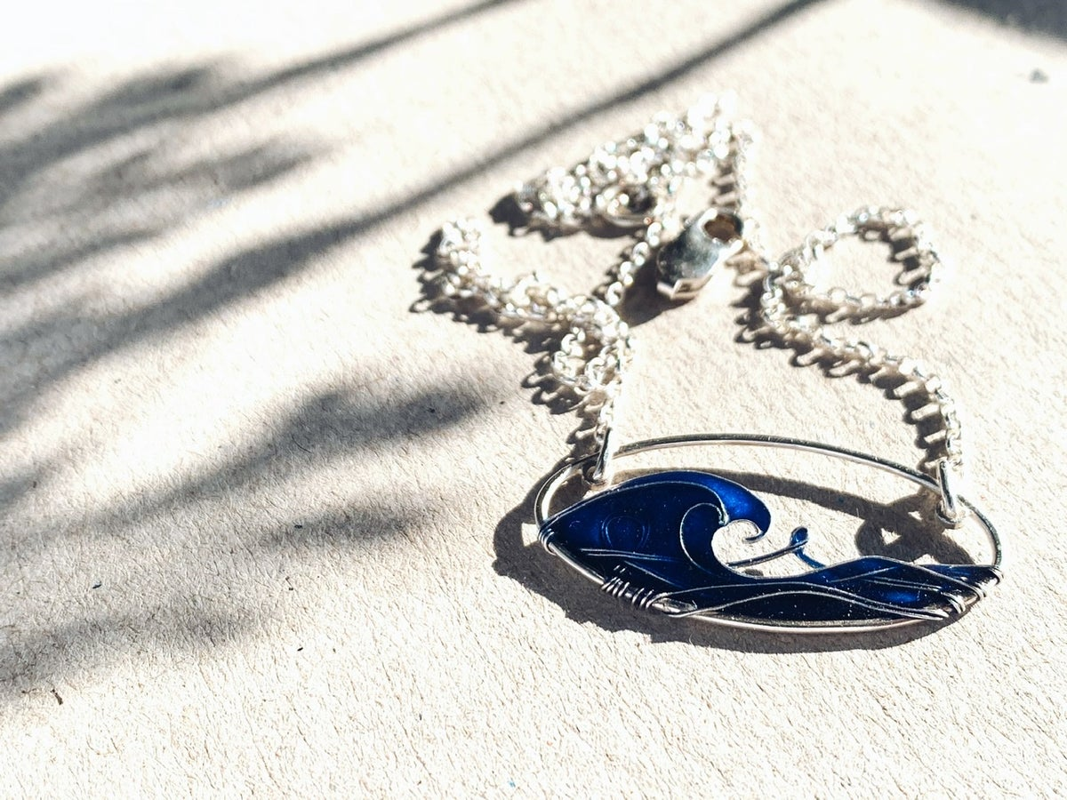 Image of Blue Sea Necklace