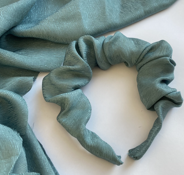 Image of Pre-order -Seafoam Greenyblue -  Scrunchy Band