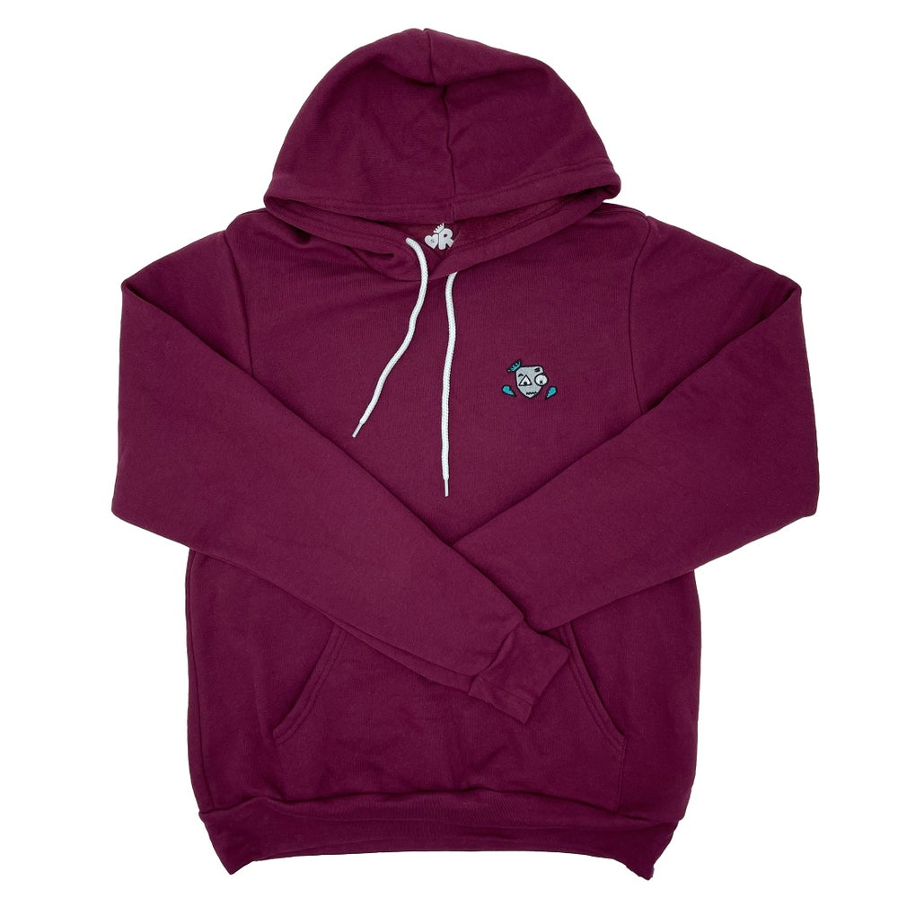 Image of Speak FB Hoodie Maroon