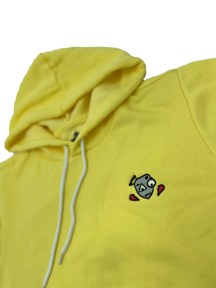Image of Speak FB Hoodie yellow