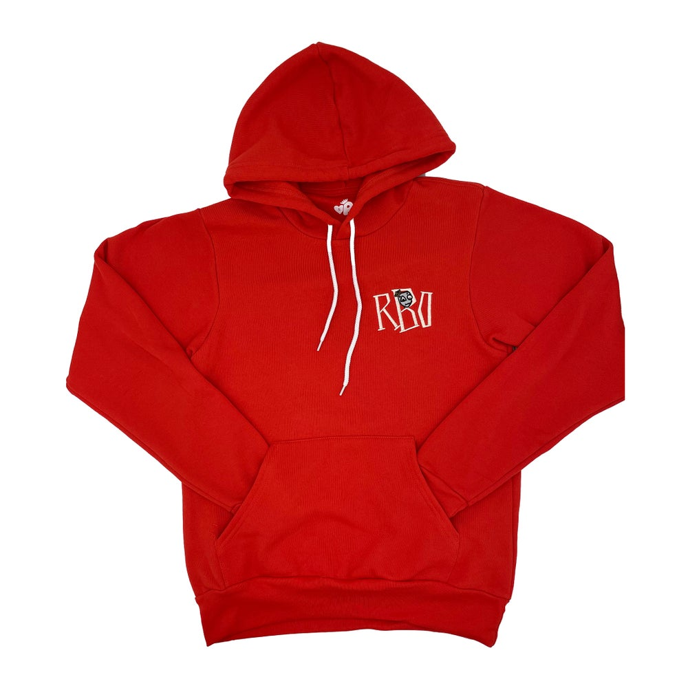 Image of Hear Me Hoodie red
