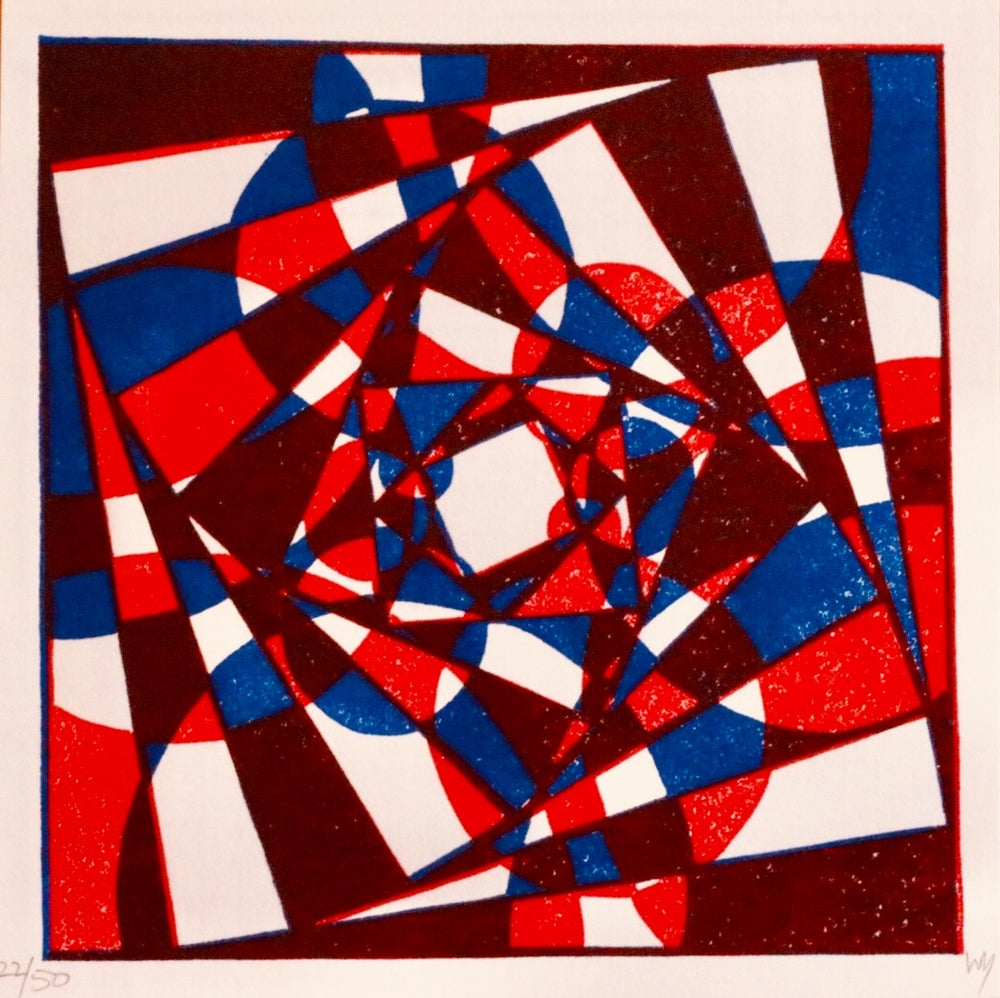 """Image of """"My first abstract"""""""