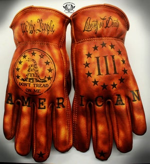 Image of We The People custom Leather gloves #14
