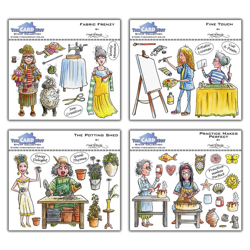 Image of Mark Bardsley - Crafty Ladies Stamp Collection