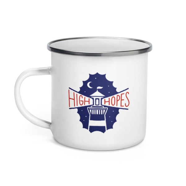 Image of HIGH HOPES - ENAMEL MUG