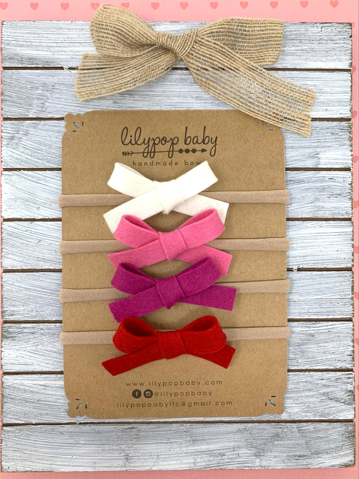 Image of Baby Felt Bows