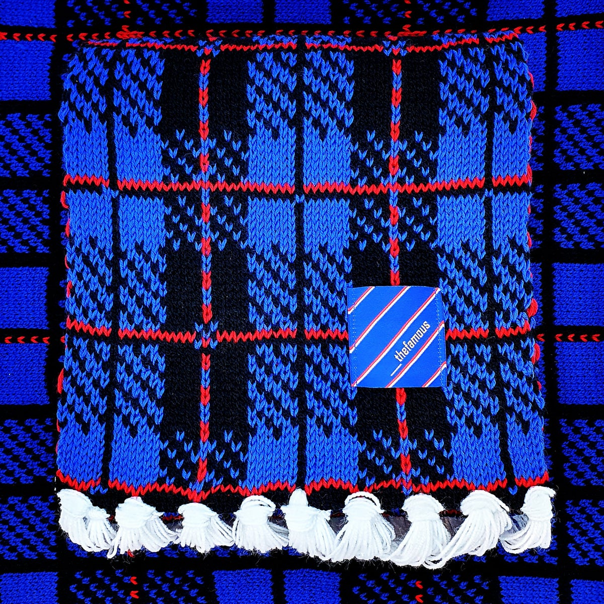 Image of Famous Tartan Scarf