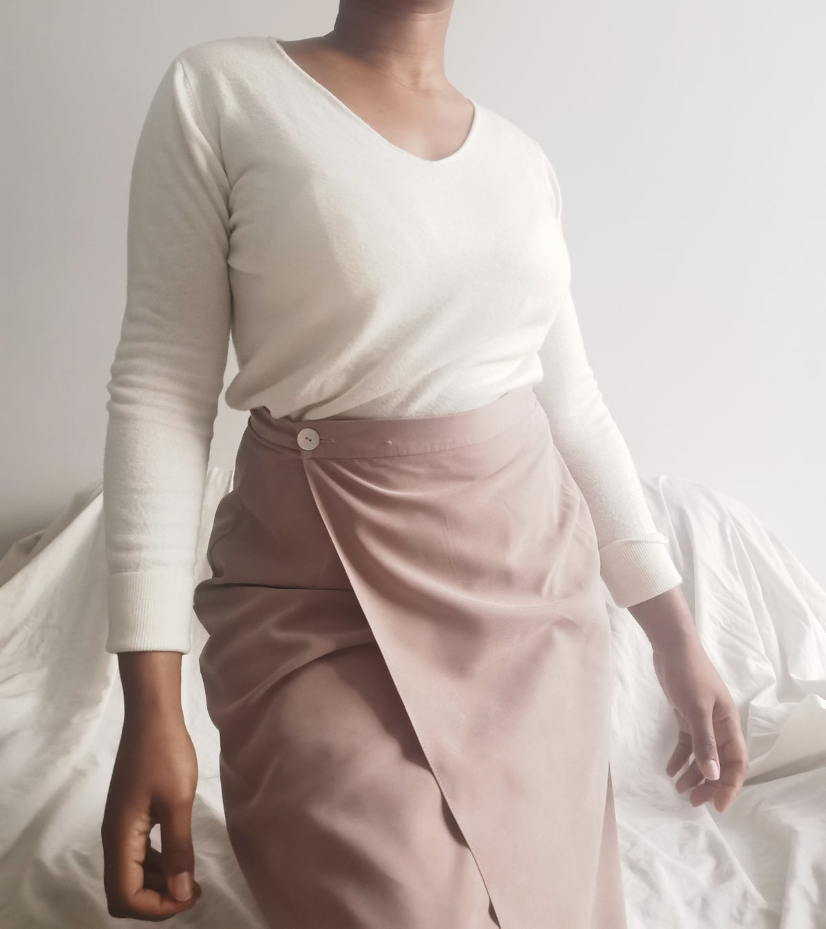 Image of wrap up skirt