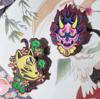 Altered Neon Masks Pins ( Hannya / Kitsune )