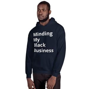 Image of Black Business Unisex Hoodie