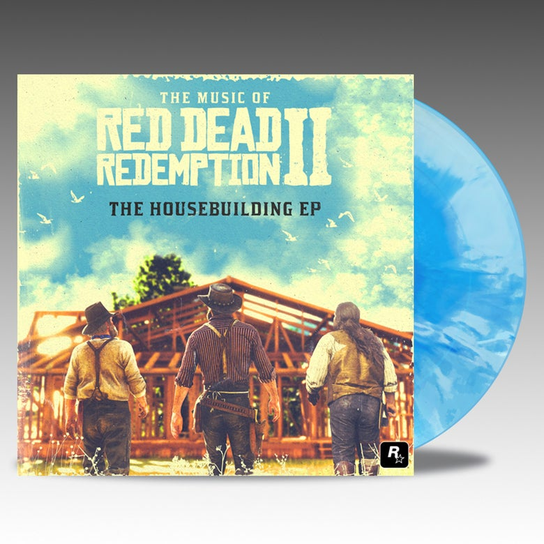 "Image of Red Dead Redemption 2 - The Housebuilding EP 10"" - David Ferguson and Matt Sweeney"
