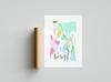 FEELS LIKE ~ A4 series print