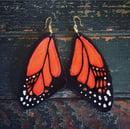 Image 1 of Monarch Butterfly earrings