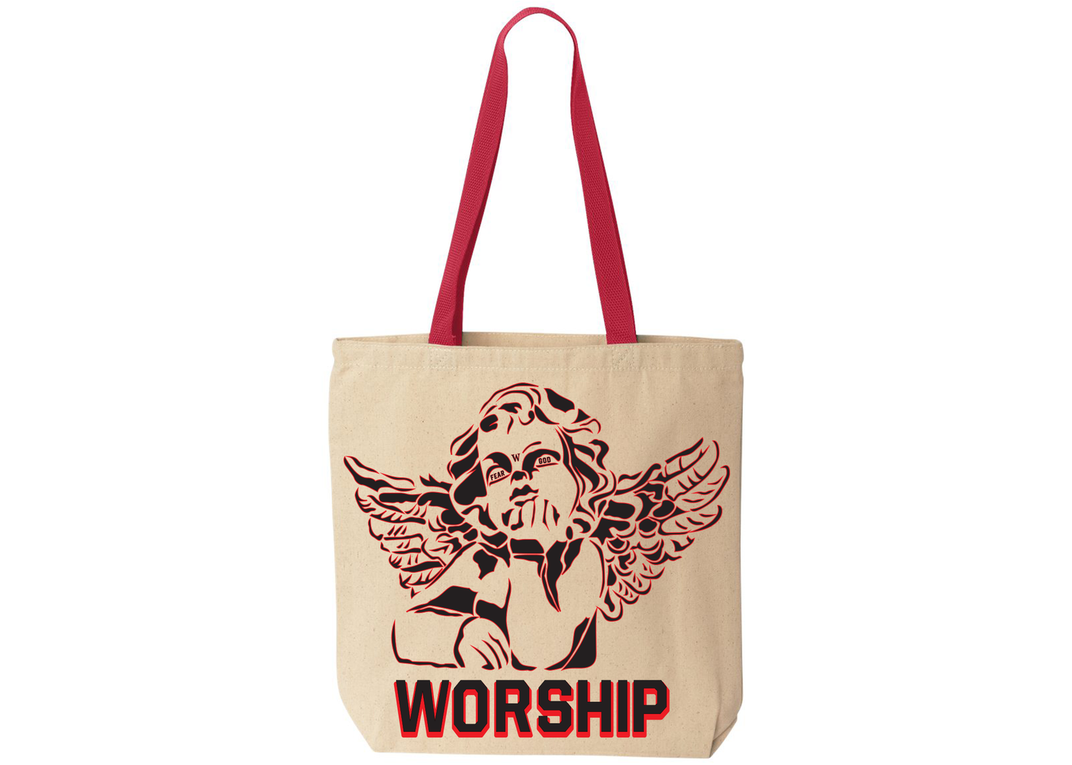 Image of Angelica Fear God Tote Bag