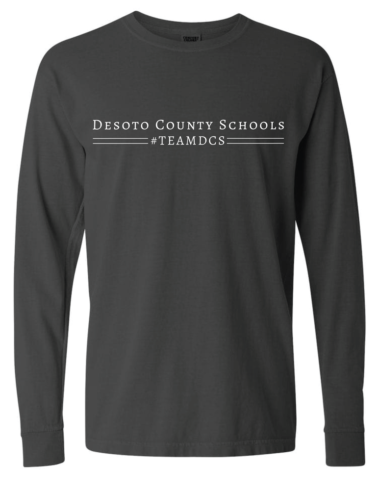 Image of Desoto County Schools #TEAMDCS - Charcoal