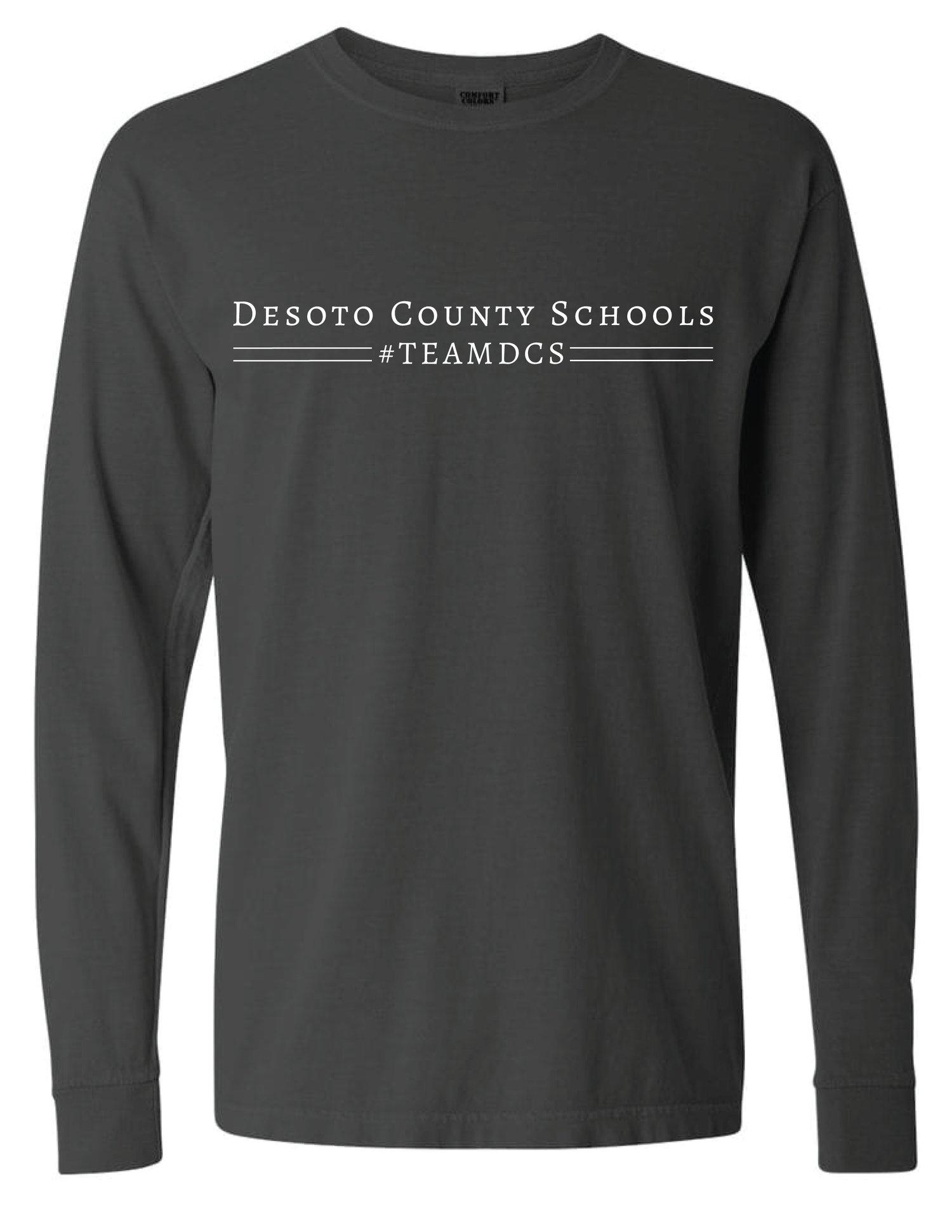Image of Desoto County Schools #TEAMDCS - Charcoal