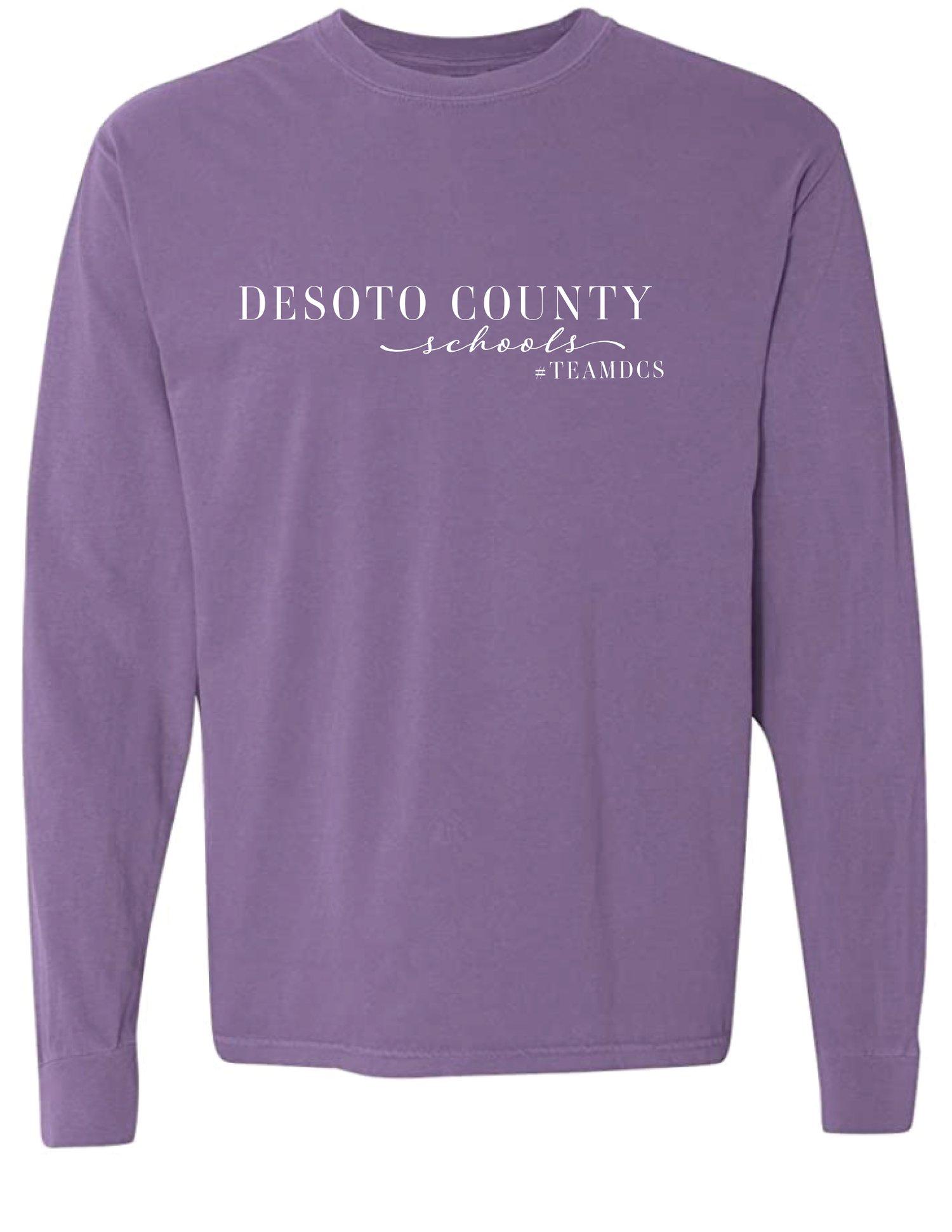 Image of Desoto County Schools #TEAMDCS - Violet