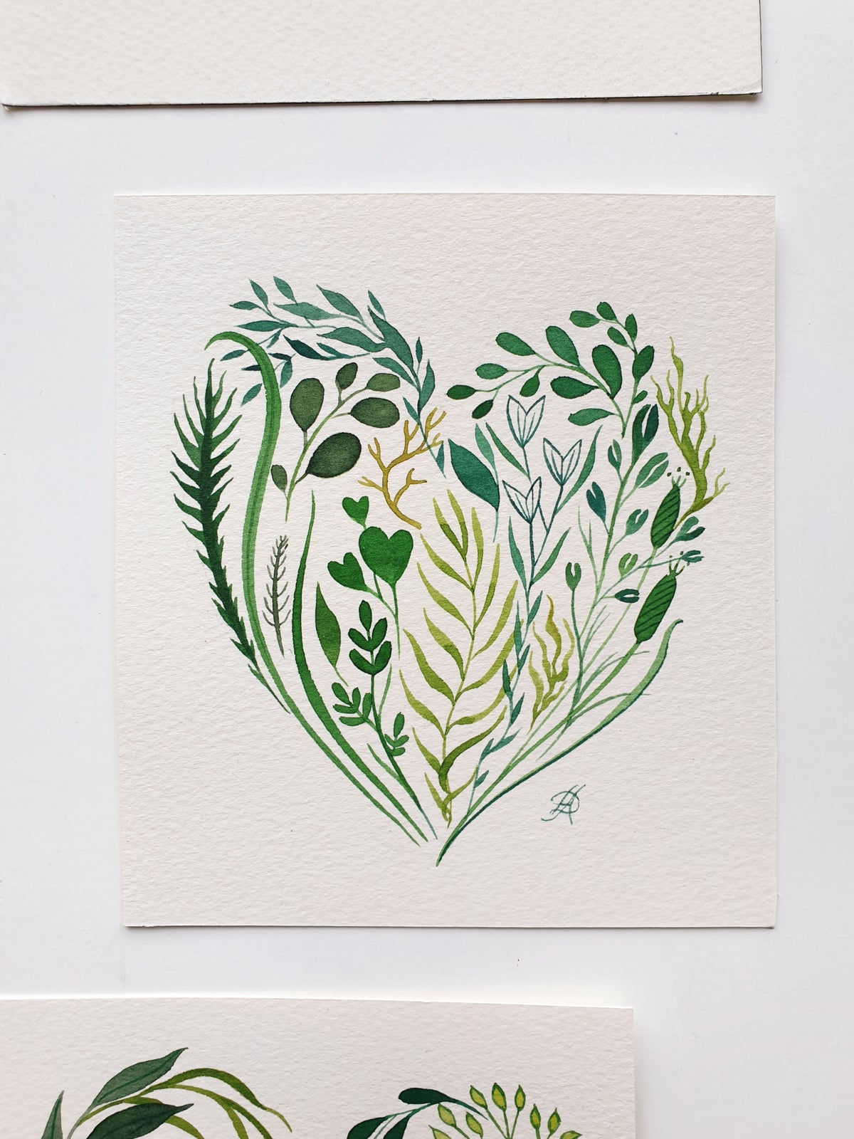 St. Valentine's Day hand-painted cards
