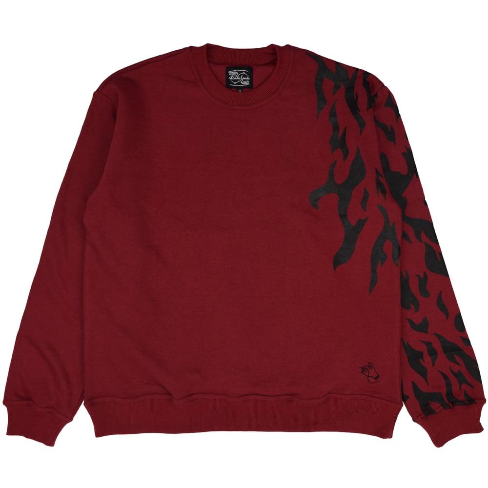 Image of Burning Curse Mark Sweater