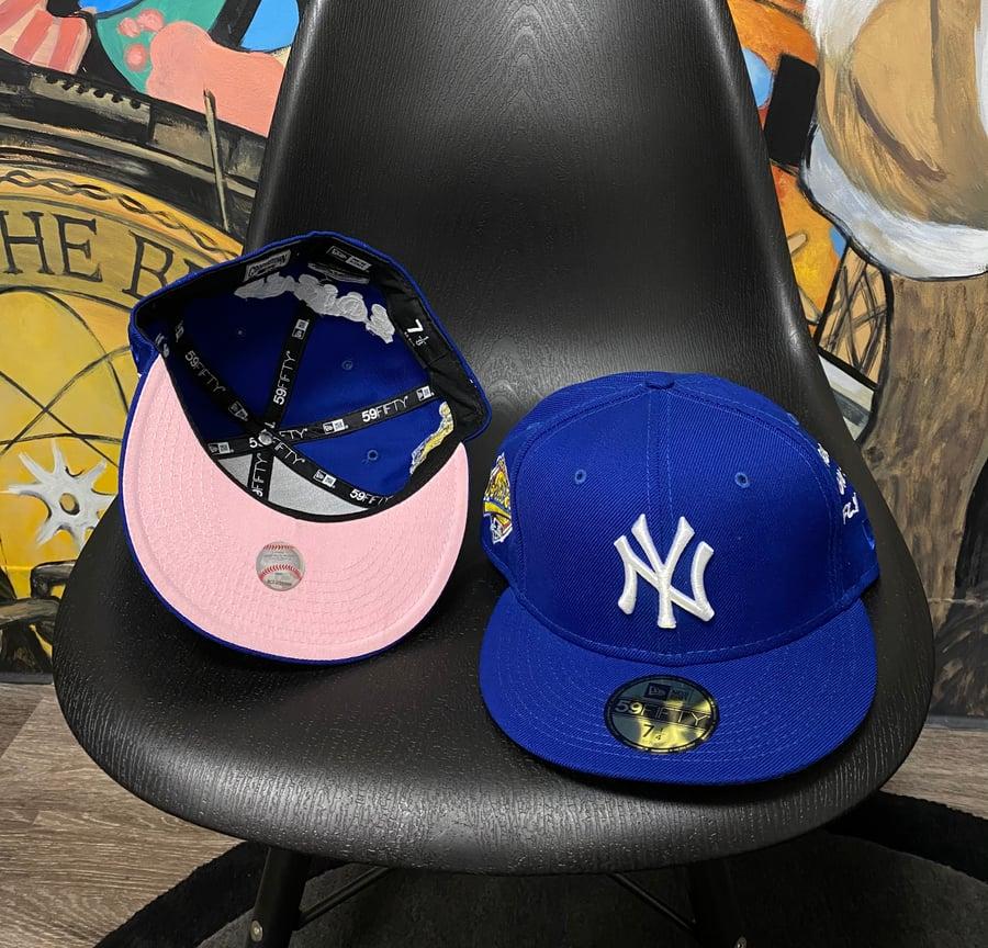Image of PINK BOTTOM-NY Yankees Royal WS 96'