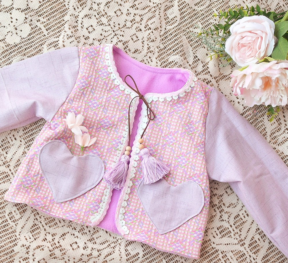 Image of Liza Jacket- Lavender 5T