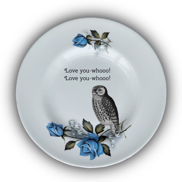 Image of Love Plate - (Ref. 71)